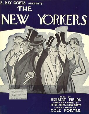 Cole Porter S The New Yorkers Lost Musicals
