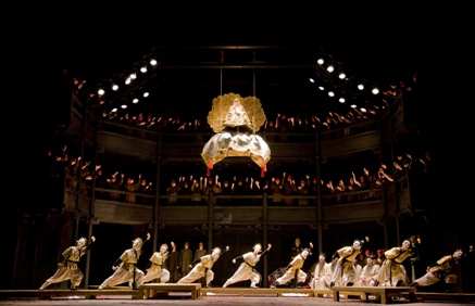 Turandot at the Royal Opera House (photo © Johan Persson)