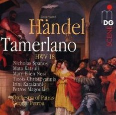 Reviews of four Handel recordings