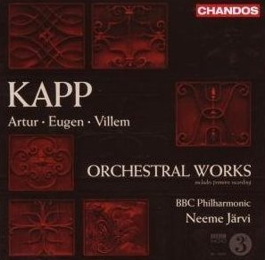 CD Review : Kapp family: Orchestral Works: BBCSO/Järvi (Chandos)